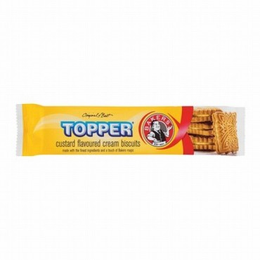 Bakers Toppers Custard