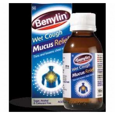 Benylin Wet Cough Mucus Relief Syrup