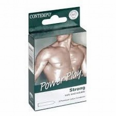 Contempo Condom Power Play 3s