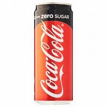 Coca Cola Zero Can