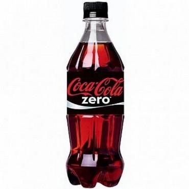 Coca Cola Zero Plastic Bottle