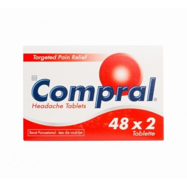 Compral Pain Tablets Box