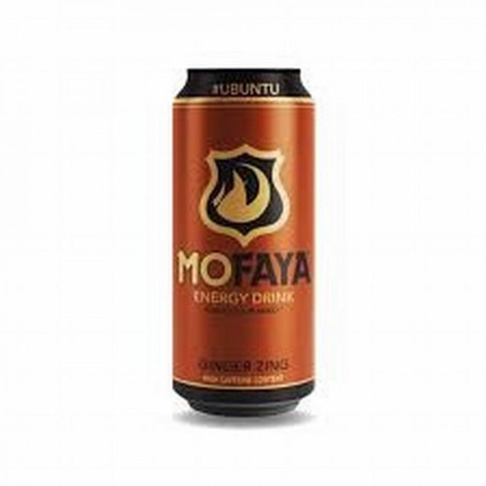 Mofaya Energy Drink Ginger Zing