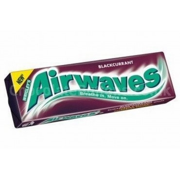 Wrigleys Gum Airwaves Blackcurrant