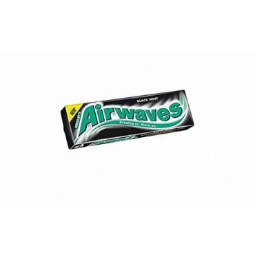 Wrigleys Gum Airwaves Black Mint