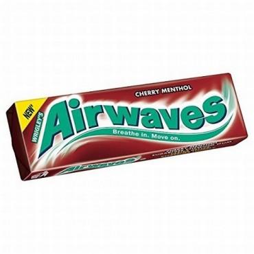 Wrigleys Gum Airwaves Cherry Menthol