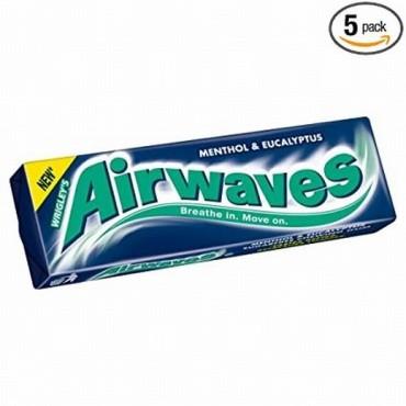 Wrigleys Gum Airwaves Menthol & Eucalyptus
