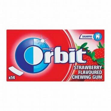 Wrigleys Gum Orbit Env Strawberry