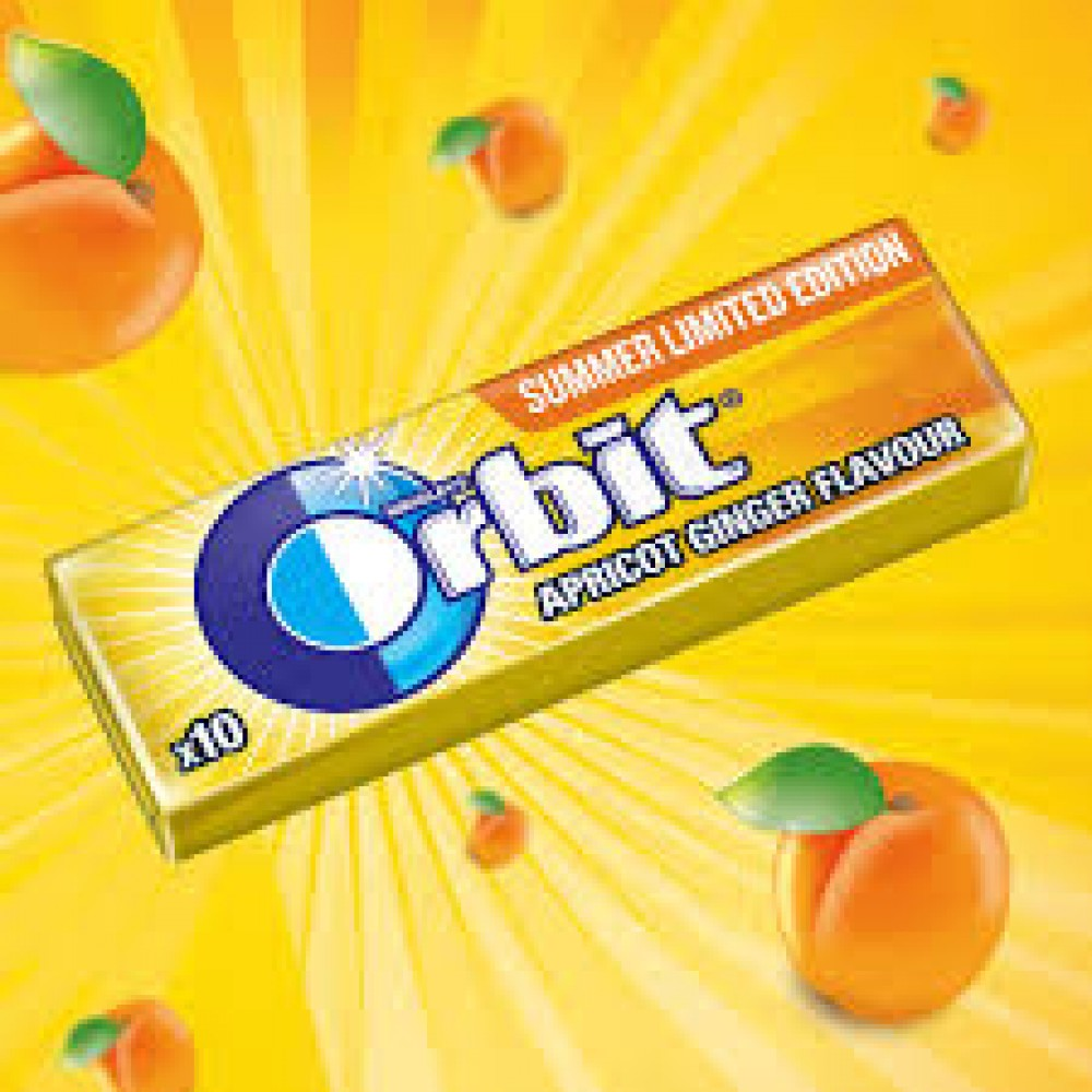 Wrigleys Orbit Apricot & Ginger